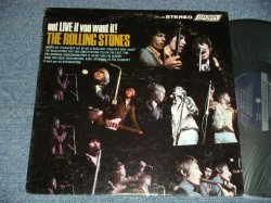 "画像1: ROLLING STONES - GOT LIVE IF YOU WANT IT! (Matrix  #  A)ZAL-7517-1E  Bell Sound  MR ▵9822  B)ZAL-7518-1E  Bell Sound   MR ▵9822-x) (Ex+++ B-2:Ex++)  / 1966 US AMERICA  ORIGINAL  1st Press ""Shinning DARK BLUE Label"" stereo Used LP"