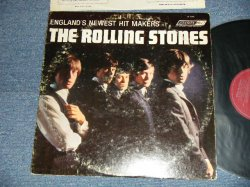 "画像1: The ROLLING STONES - ENGLAND'S NEWEST HIT MAKERS ( UK EXPORT:(Matrix #  A)XARL 6291 1A/ B) XARL6292-2A) (VG++/Ex  WOBC, WOL) / 1964 US AMERICA ORIGINAL Jacket + UK EXPORT Press ""MAROON with ffrr Label""  Mono Used LP"