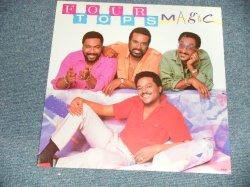 """画像1: FOUR TOPS - MAGIC (SEALED Cutout) /1985 US AMERICA ORIGINAL """"BRAND NEW SEALED"""" LP"""