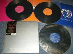 """画像1: U2 - DISCOTHEQUE (NO POSTER) (Ex++/MINT-) /1997 UK ENGLAND ORIGINAL Used 3 THREE TRIPLE 12"""" Singles"""