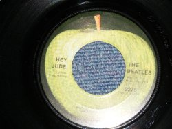 "画像1: The BEATLES -  A) HEY JUDE  B) REVOLUTION (Ex+/Ex+) / 1968 US AMERICA ORIGINAL Used 7"" Single"