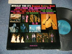 "画像1: V.A. VARIOUS Omnibus - MURRAY THE K'S GREATEST HOLIDAY SHOW: LIVE FROM THE BROOKLYN FOX  PRESENTS (Mid 60's Soul Songs) (Ex+++/MINT-~Ex+++)/ 1965 US AMERICA ORIGINAL ""MONO"" Used LP"