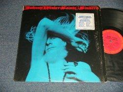 画像1: JOHNNY WINTER - SAINTS  SINNERS : NO Custom Inner (Ex++/Ex++ Looks:Ex+) / 1974 US AMERICA ORIGINAL Used LP