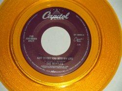 """画像1: The BEATLES - A) GOT TO GET YOU INTO MY LIFE  B) HELTER SKELTER  (for JUKEBOX) (NEW)/ 1996 US AMERICA REISSUE """"GOLD WAX/Vinyl"""" """"BRAND NEW"""" 7"""" Single"""