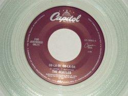 """画像1: The BEATLES - A) OB-LA-DI, OB-LA-DA  B) JULIA (for JUKEBOX) (NEW)/ 1996 US AMERICA REISSUE """"CLEAR WAX/Vinyl"""" """"BRAND NEW"""" 7"""" Single"""