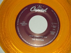 """画像1: The BEATLES - A) HERE COMES THE SUN   B) OCTOPUS'S GARDEN  (for JUKEBOX) (NEW)/ 1994 US AMERICA REISSUE """"CLEAR WAX/Vinyl"""" """"BRAND NEW"""" 7"""" Single"""