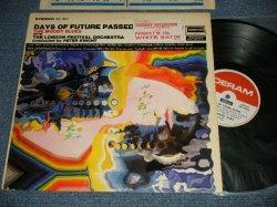 """画像1: The MOODY BLUES - DAYS OF FUTURE PASSED :with TITLE SEAL (Matrix #MATRIX #    A)ZAL 8078-2 BellSound  MR  ▵11566   B)ZAL 8079-2 BellSound  MR  ▵11566-x) (Ex++/Ex+++ Looks:Ex++) /1967 EARLY Released Version  US AMERICA ORIGINAL 1st Press """" DERAM on Top Half of Label"""" """"Boxed STEREO CENTER BOTTOM Label"""" Used LP"""