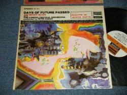 """画像1: The MOODY BLUES - DAYS OF FUTURE PASSED (Matrix #A)ZAL 8078-11 W BellSound sf  B)ZAL 8079-12 W  BellSound  sf) (Ex++/Ex+++) /1972 Version US AMERICA Later Press """"White with BROWN Label"""" Used LP"""