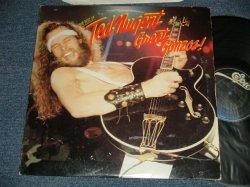 """画像1: TED NUGENT - THE BEST OF/THE GREAT GONZOS (Ex+/Ex+) /1981 US AMERICA ORIGINAL """"DARK BLUE LABEL"""" Used LP"""