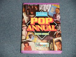 画像1: JOEL WHITBURNS - Joel Whitburns's Pop Annual 1955-1999: Billboard Chart Data Compiled from Billboard's Pop Singles Charts, 1955-1999 (HARD COVER) / 2000 US AMERICA ORIGINAL Used DATA BOOK