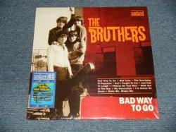 """画像1: The BRUTHERS - BAD WAY TO GO (SEALED) / 2003 US AMERICA REISSUE  """"180 gram Heavy Weight"""" """"BRAND NEW SEALED"""" LP"""