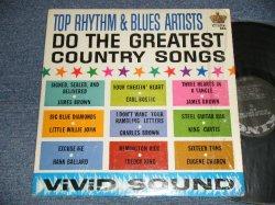 画像1: V.A. Various OMNIBUS- TOP RHYTHM & BLUES ARTISTS : DO THE GREATEST COUNTRY SONGS (Ex+++/Ex+++)  /1964 US AMERICA ORIGINAL MONO Used LP
