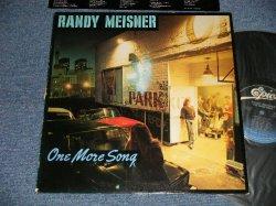 画像1: RANDY MEISNER (of EAGLES or POCO) - ONE MORE SONG (Ex+/Ex+++ EDSP, STEAROBC) / 1980 US AMERICA ORIGINAL Used LP