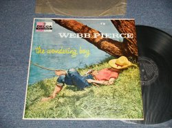 "画像1: WEBB PIERCE - THE WONDERING BOY (Ex+++/Ex++ STOFC) / 1956 US AMERICA  ORIGINAL ""MONO"" Used LP"