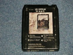 画像1: LED ZEPPELIN - IV (Ex++/?) / 1977 Version US AMERICA REISSUE Used 8 TRACK CARTRIDGE TAPE