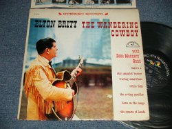 """画像1: ELTON BRITT With Zeke Manners Band - THE WANDERING COWBOY (Ex+/Ex++  EDSP) / 1959 US AMERICA ORIGINAL """"STEREO"""" Used LP"""