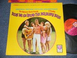 """画像1: The SPENCER DAVIS GROUP / TRAFFIC - HERE WE GO 'ROUND THE MULBERRY BUSH (Ex+++, VG+++/Ex+++ TEAROBC, EDSP) /1968 US AMERICA ORIGINAL 1st Press """"PINK & ORANGE Label"""" STEREO Used LP"""