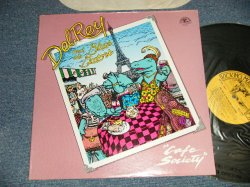 画像1: DEL REY and The BLUES GATORS - CAFE SOCIETY (WHITE BLUES) (MINT-/Ex+++ Looks:MINT-) / 1985 US AMERICA ORIGINAL Used LP