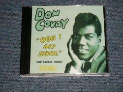 画像1: DON COVAY - OOH MY SOUL (The ROCKIN' YEARS)  (MINT-/MINT) / 2003 DENMARK ORIGINAL Used CD