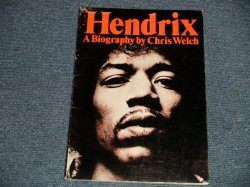 "画像1: JIMI HENDRIX - A BIOGRAPHY by CHRIS WELCH (NEW) / 1972 UK ENGLAND ORIGINAL ""BRAND NEW"" BOOK"
