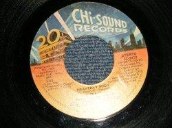 """画像1: The CHI-LITES - A) HEAVENLY BODY  B) STRUNG OUT (VG+++/VG+++)  / 1978 US AMERICA ORIGINAL Used 7"""" 45 rpm Single"""
