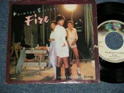 """画像1: POINTER SISTERS - A) FIRE B) LOVE IS LIKE A ROLLING STONE (Ex, Ex+/Ex+++ EDSP) / 1978 US AMERICA ORIGINAL Used 7""""45  Single  with PICTURE SLEEVE"""