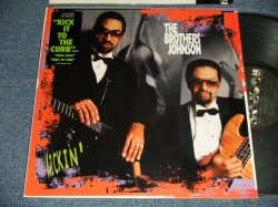 "画像1: The BROTHERS JOHNSON - KICKIN' (MINT-/MINT- Looks:Ex++) / 1988 US AMERICA ORIGINAL ""PROMO"" Used LP"