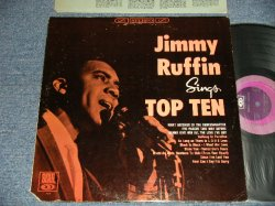 画像1: JIMMY RUFFIN - SINGS TOP TEN (Ex+/MINT- EDSP, CUT OUT) /1966 US AMERICA ORIGINAL STEREO Used LP