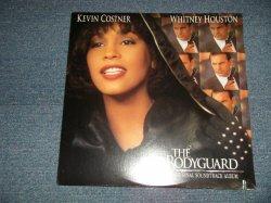 """画像1: ost WHITNEY HOUSTON - THE BODYGUARD (SEALED Cutout) /1992 US AMERICA ORIGINAL """"BRAND NEW SEALED""""  LP"""