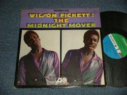 """画像1: WILSON PICKETT - THE MIDNIGHT MOVER (Matrix #A) 1B B) 1A) (Ex+/Ex+++ Looks:MINT- BB)  / 1968 US AMERICA ORIGINAL 1st Press """"GREEN & BLUE Label""""  STEREO Used LP"""
