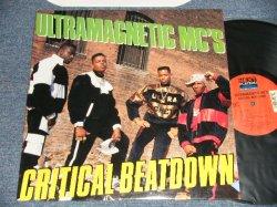 画像1: ULTRAMAGNETIC MC'S - CRITICAL BEATDOWN (MINT-/MINT) / 1997 US AMERICA REISSUE Used LP