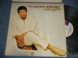 画像1: LUTHER INGRAM - I'VE BEEN HERE ALL THE TIME (Ex++/Ex+++ EDSP) / 1972 US AMERICA ORIGINAL Used LP