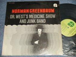 画像1: NORMAN GREENBAUM - DR.WEST'S MEDICINE SHOW AND JUNK BAND ( Ex++/MINT- Cut Out) /1969 US AMERICA ORIGINAL Used LP