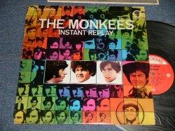 """画像1: The MONKEES - INSTANT REPLAY (Ex+/Ex+ EDSP) / 1969 US AMERICA ORIGINAL """"With COMPANY SLEEVE""""  Used LP"""