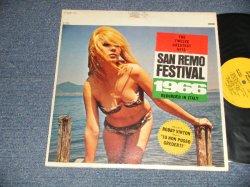 画像1: V. A.  VARIOUS / OMNIBUS  - SAN REMO FESTIVAL 1966  : THE TWELVE GREATEST HITS (Ex+++, Ex+/Ex+++) / 1966 US AMERICA ORIGINAL STEREO Used LP