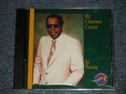 """画像1: CLARENCE CARTER - IN PERSON (SEALED) / 1996 US AMERICA ORIGINAL """"BRAND NEW SEALED"""" CD"""