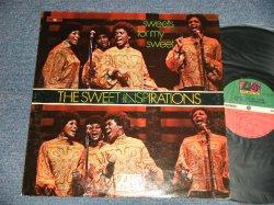 """画像1: The SWEET INSPIRATIONS - SWEETS FOR MY SWEETS (""""MO"""" AT BOTTOM Label)  (Ex++/Ex+ Looks:Ex+++ BB) / 1969 US AMERICA  ORIGINAL """"GREEN & RED with 1841 BROADWAY Label"""" Used LP"""