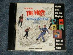 画像1: Mickie Most And His Playboys - Hear The Most - Best of Mickie Most(MINT-/MINT) / 1998 GERMANY GERMAN ORIGINAL Used PRESS-CD