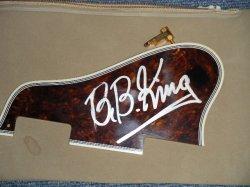 画像1: GIBSON ES-355 PICKGUARD with B.B. KING ORIGINAL AUTOGRAPH/SIGN 直筆サイン入り