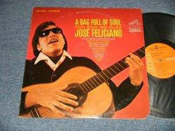 """画像1: JOSE FELICIANO - A BAG FULL OF SOUL (Ex/MINT- CUT OUT, SWOBC)  / 1969 Version US AMERICA  2nd Press """"ORANGE Label"""" STEREO Used LP"""