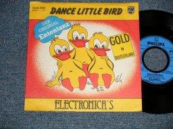 """画像1: ELECTRONICA'S - A) DANCE LITTLE BIRD  B) THE MARCHING TIN SOLDIER (Ex++/MINT-) / 1980 WEST-GERMANY Used 7"""" 45rpm Single with PICTURE SLEEVE"""