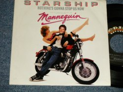 "画像1: STARSHIP - A) NOTHING'S GONNA STOP US NOW  B) LAYIN' IT ON THE LINE (Ex++/Ex+++) / 1987 US AMERICA ORIGINAL Used 7"" 45rpm Single with PICTURE Sleeve"