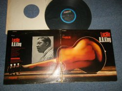 "画像1: B.B.KING  B.B. KING - LUCILLE (VG+++/Ex+++ BB WTRDMG) / 1968 US AMERICA 2nd Press ""BLACK with BLUE RIM Label"" Used LP"