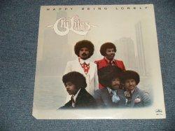 """画像1: THE CHI-LITES - HAPPY BEING LONELY (SEALED Cutout) / 1976 US AMERICA ORIGINAL """"BRAND NEW SEALED"""" LP"""