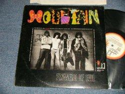 画像1: MOUNTAIN - FLOWERS OF EVIL (Matrix #A)WF-5501-SA RE  B)WF-5501-SB RE) (Ex+/Ex++) / 1971 US AMERICA ORIGINAL Used LP