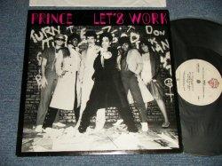 """画像1: PRINCE - LET'S WORK (Ex++/Ex++) / 1982 US AMERICA ORIGINAL Used 12"""""""