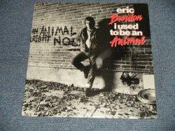 """画像1: ERIC BURDON - I USED TO BE AN ANIMAL(SEALED) / 1988 US AMERICA ORIGINAL """"BRAND NEW SEALED"""" LP"""