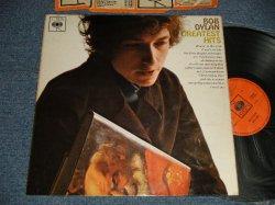 """画像1: BOB DYLAN - GREATEST HITS (Matrix #  A)A1 B)B1) (Ex++/Ex++ B-6:POOR/JUMP) / 1966 UK ENGLAND ORIGINAL 1st Press """"ORANGE Label"""" STEREO Used LP"""