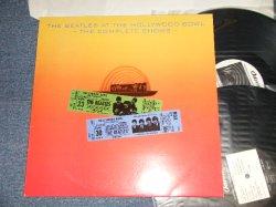 画像1: THE BEATLES - AT THE HOLLYWOOD BAWL - THE COMPLETE SHOWS - (Black WAX VINYL) (MINT-/MINT-) /  GERMAN ORIGINAL Used  2 LP's