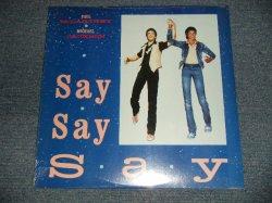 """画像1: PAUL McCARTNEY (of THE BEATLES) & MICHAEL JACKSON - SAY SAY SAY (SEALED) / 1983 US AMERICA ORIGINAL """"BRAND NEWSEALED"""" 12"""""""